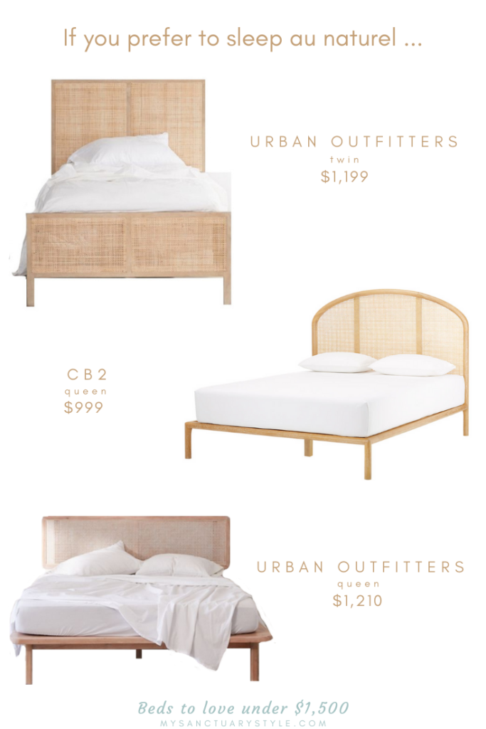 13 Gorgeous Beds Under $1,500 to Fall in Love With